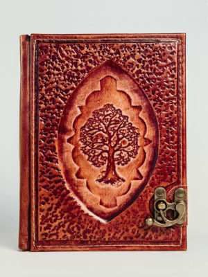 "Leather case for eBook reader ""Tree of Life II"""