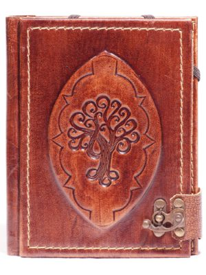 "Leather case for eBook reader ""Tree of Life"""