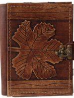 E-Book Reader Hülle aus Leder mit einem Blatt