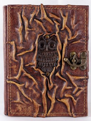 "Notebook large ""Owl"""