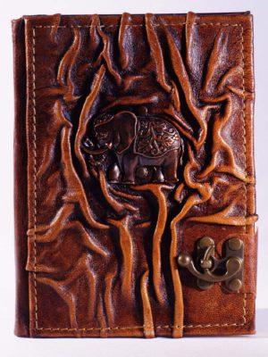 """Notizbuch groß """"Indischer Elefant"""""""