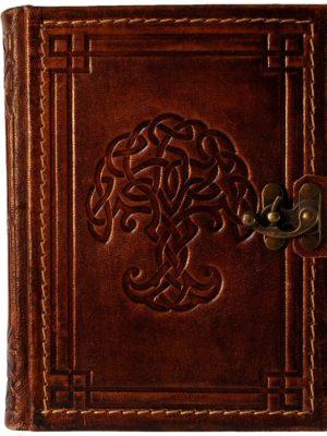 """Tagebuch groß """"Keltischer Knotenbaum"""" liniert"""