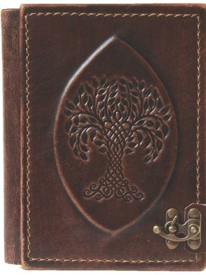 "E-Book-Reader- / Tablet - Hülle Leder ""Yggdrasil"""