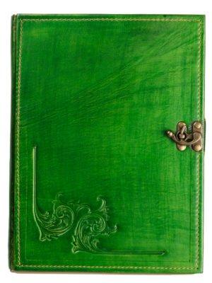 "Gästebuch ""Akanthus"" grün"