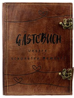 """Gästebuch """"Herzchen"""""""