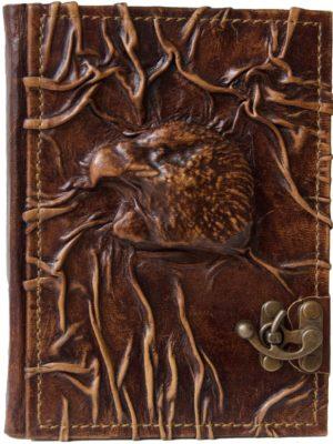 """Notizbuch """"Adlerkopf Relief"""""""