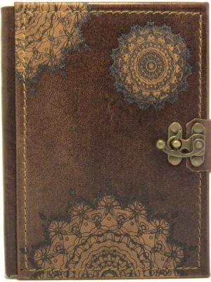 "Ringbuch Kalender ""Mandala Braun"""
