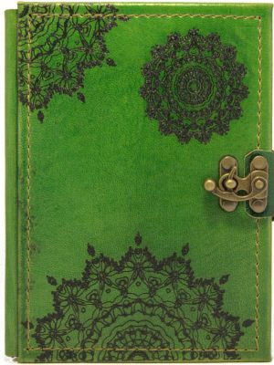 "Ringbuch Kalender ""Mandala Grün"""