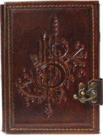 "Ringbuch Kalender mit aufgeprägtem Motiv ""Sternenkarte"""